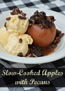 Slow-Cooked Apples with Pecans