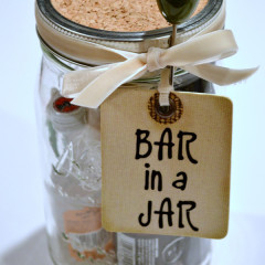 Bar in a Jar – Last Minute Gift