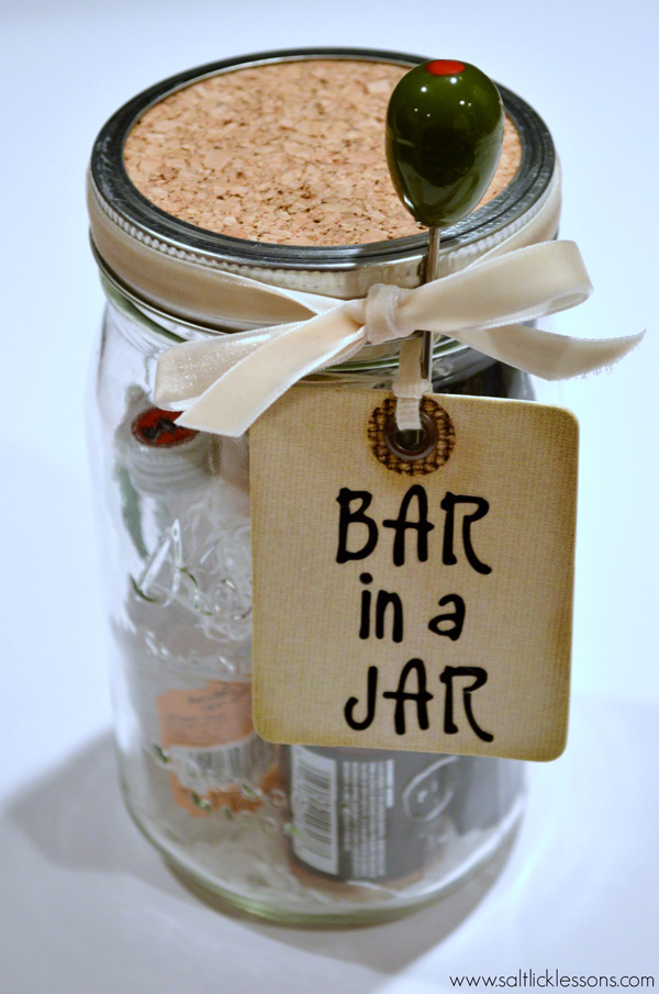 Bar in a Jar - Last Minute Gift