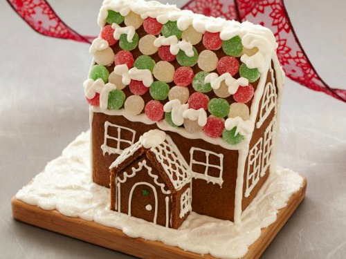 Gingerbread House how-to from the Food Network