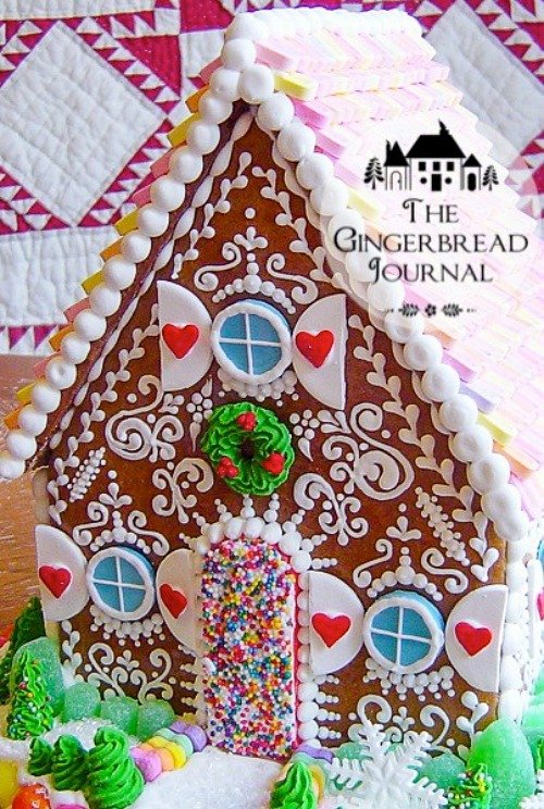 Gingerbread House from GingerbreadJournal.com