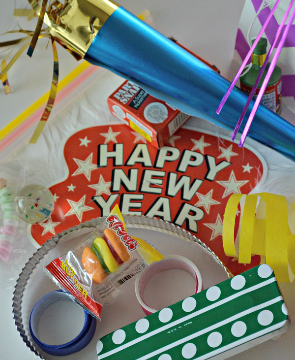 New Years Eve Countdown Bag Goodies