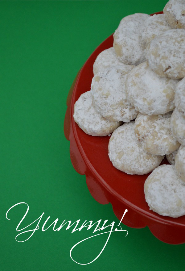 Snowball Cookies, Mexican Wedding Cookies, or Snowball Cookies, they're delicious!