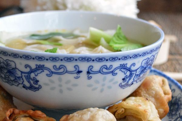 Wonton Soup for Chinese New Year