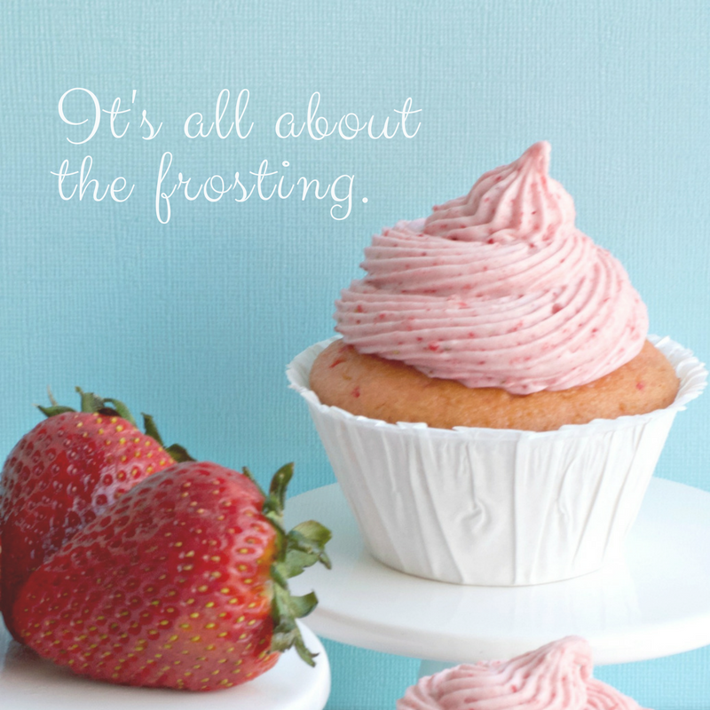 Delicious Strawberry Frosting